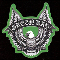 Green Day- Eagle magnet