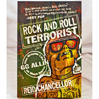 GG Allin- Rock And Roll Terrorist, The Graphic Life Of Shock Rocker GG Allin Book