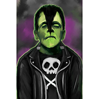 Glenstein Fine Art Print by Low Brow Art Co & Fun Rad