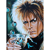 Goblin King by Mike Bell -  Fine Art Print