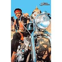 """Jimi Hendrix- Motorcycle poster (Giant Size- 40""""x55"""")"""