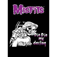 """Misfits- Die Die My Darling poster (Giant Size- 40""""x55"""")"""