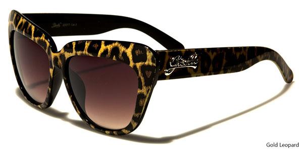 Giselle Womens Leopard Cat Eye Sunglasses (Various Colors)