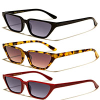 Giselle Womens Rectangular Sunglasses (Various Colors)