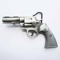 Six Shooter belt buckle (bb127)