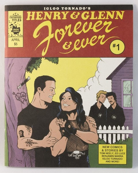 Henry & Glenn Forever & Ever #1 (Book- Tree Cover)