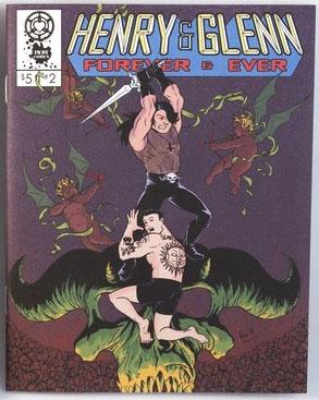 Henry & Glenn Forever & Ever #2 (Book- Skull Cover)