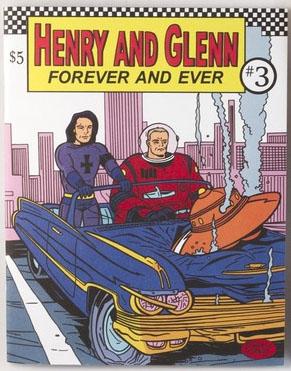 Henry & Glenn Forever & Ever #3 (Book- Car Cover)