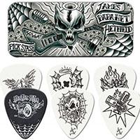 James Hetfield- So What Guitar Picks In Collectors Tin (Metallica)