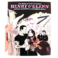 Henry & Glenn Adult Activity & Coloring Book