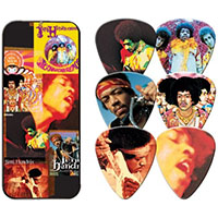 Jimi Hendrix- Albums Guitar Picks In Collectors Tin