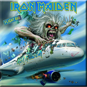 Iron Maiden- Flight 666 magnet