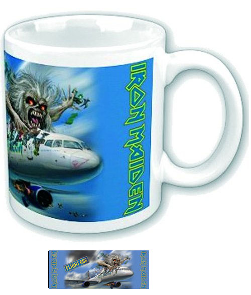 Iron Maiden- Flight 666 coffee mug