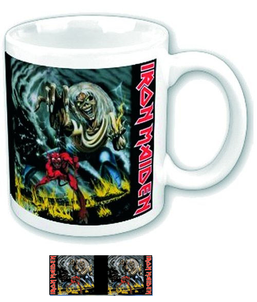Iron Maiden- Number Of The Beast coffee mug