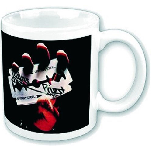 Judas Priest- British Steel coffee mug