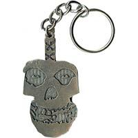 Misfits- Metal Skull keychain