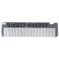 Kustom Kreeps Metal Comb & Bottle Opener- Sleazy & Greasy - by Sourpuss - SALE