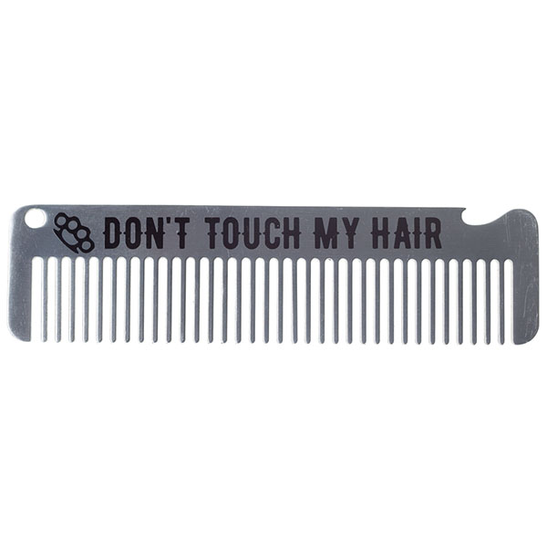Kustom Kreeps Metal Comb - Don't Touch My Hair - by Sourpuss