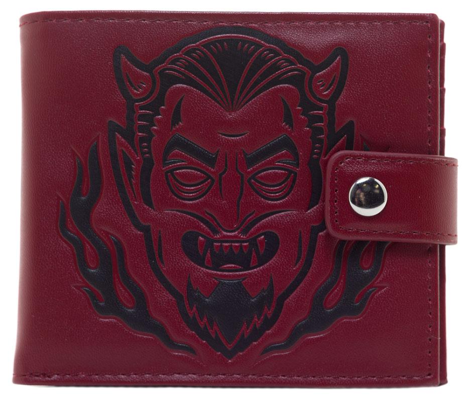 Kustom Kreeps Creepy Devil Wallet by Sourpuss - SALE