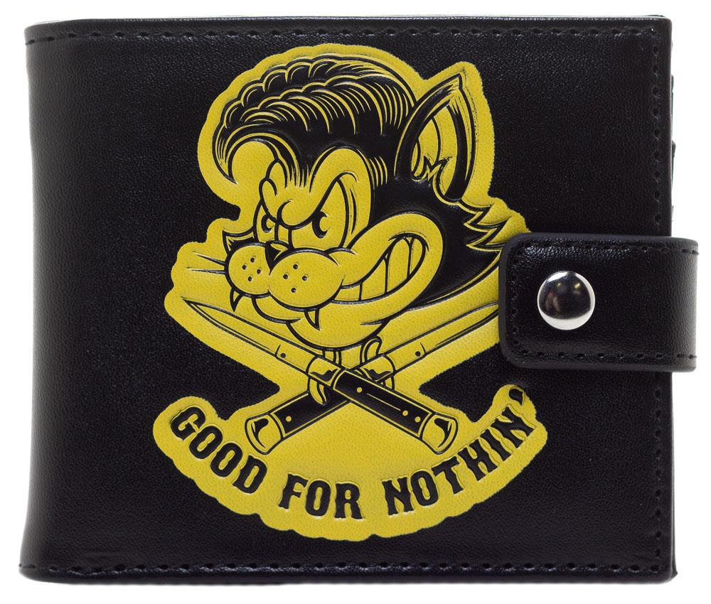 Kustom Kreeps Good For Nothin Wallet by Sourpuss