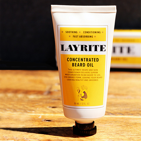 Concentrated Beard Oil by Layrite (2oz Tube) (Sale price!)