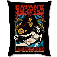 Satans Slaves Pillow by Liquorbrand