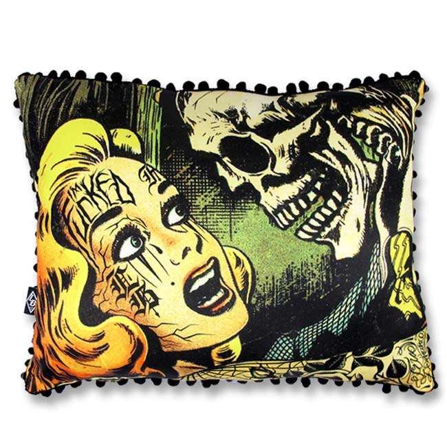 Horror Pillow by Liquorbrand