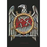 Slayer- Eagle Fabric Poster/Wall Tapestry/Flag