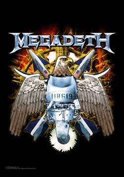 Megadeth- Eagle Fabric Poster/Wall Tapestry