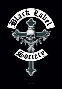 Black Label Society- Crucifix Fabric Poster/Wall Tapestry