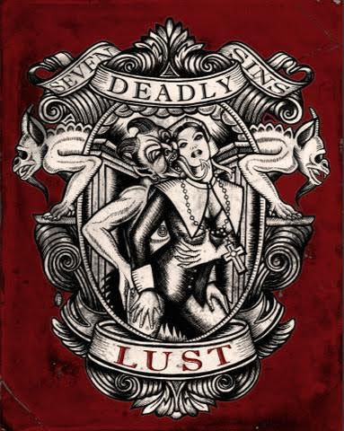 Lust Art Print from Se7en Deadly - SALE