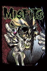 Misfits- Pushead Eyeball magnet