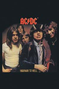 AC/DC- Highway To Hell magnet