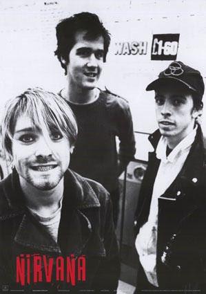 Nirvana- Band Pic poster