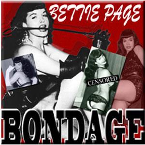 Bettie Page- Bondage magnet