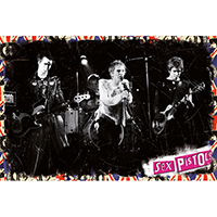 Sex Pistols- Live poster