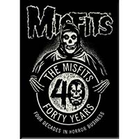 Misfits- Forty Years magnet