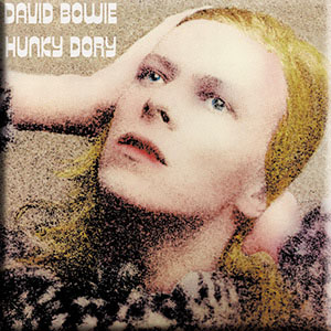 David Bowie- Hunky Dory magnet