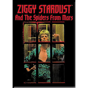 David Bowie- Ziggy Stardust (Phone Booth) magnet