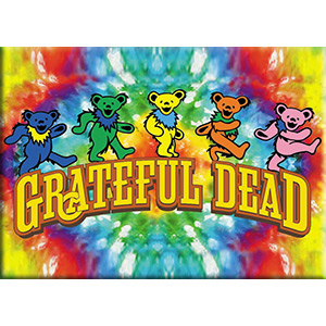 Grateful Dead- Bears magnet