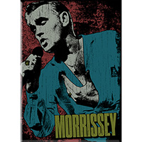 Morrissey- Singing magnet