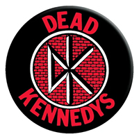 Dead Kennedys- DK And Logo magnet