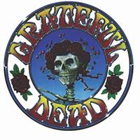 Grateful Dead- Skull & Roses magnet