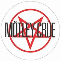 Motley Crue- Red Pentagram & Logo magnet