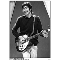 Who- Pete Townsend 1966 poster