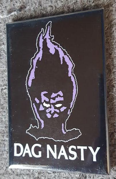 Dag Nasty- Flame Head magnet