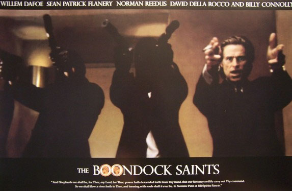 Boondock Saints- 3 Guys With Guns poster
