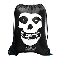 Misfits- Skull on a black cinch bag