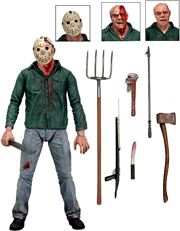 "Friday The 13th- Jason 3D 7"" Action Figure"