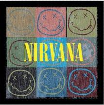 Nirvana- Smiley Blocks magnet
